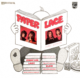 Paper Lace ‎- First Edition (LP) (G/VG+)